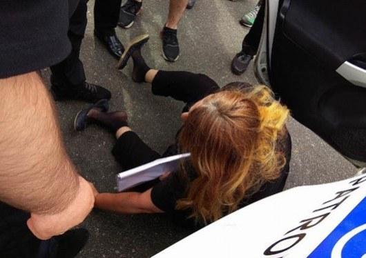 ВКиеве задержали мать погибшей экс-регионалки Бережной: жесткие фото
